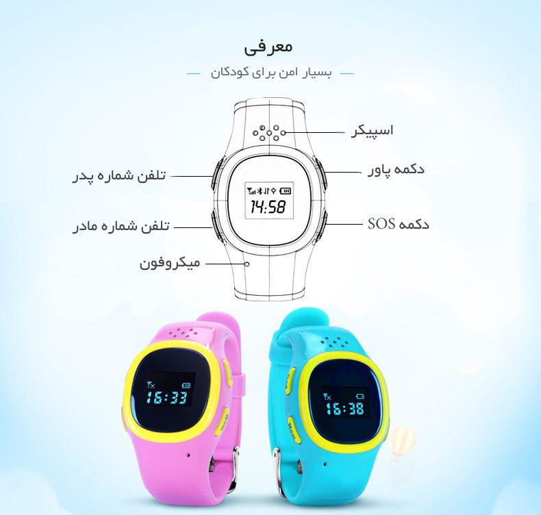 قابلیت های ساعت QQ