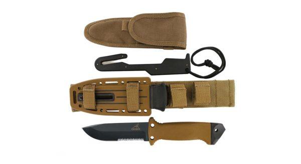 چاقوی شکاری گربر مدل LMF II Ingantry Coyote Brown