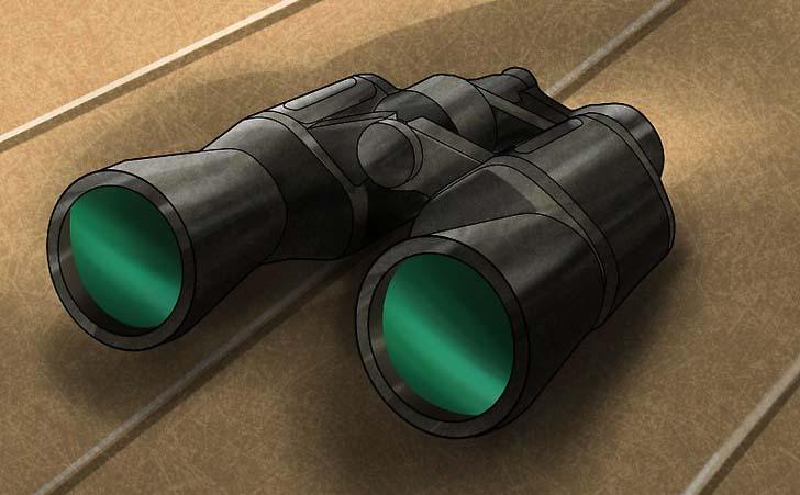 یک دوربین شکاری به همراه داشته باشید