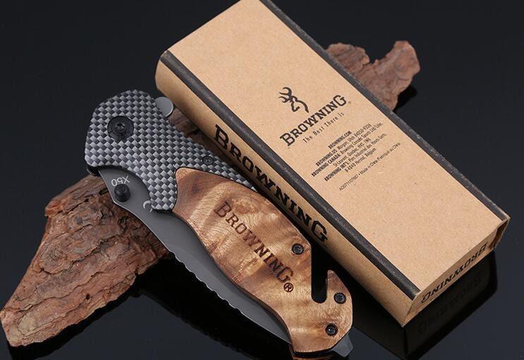 چاقو سفری تاشو برونینگ مدل X50