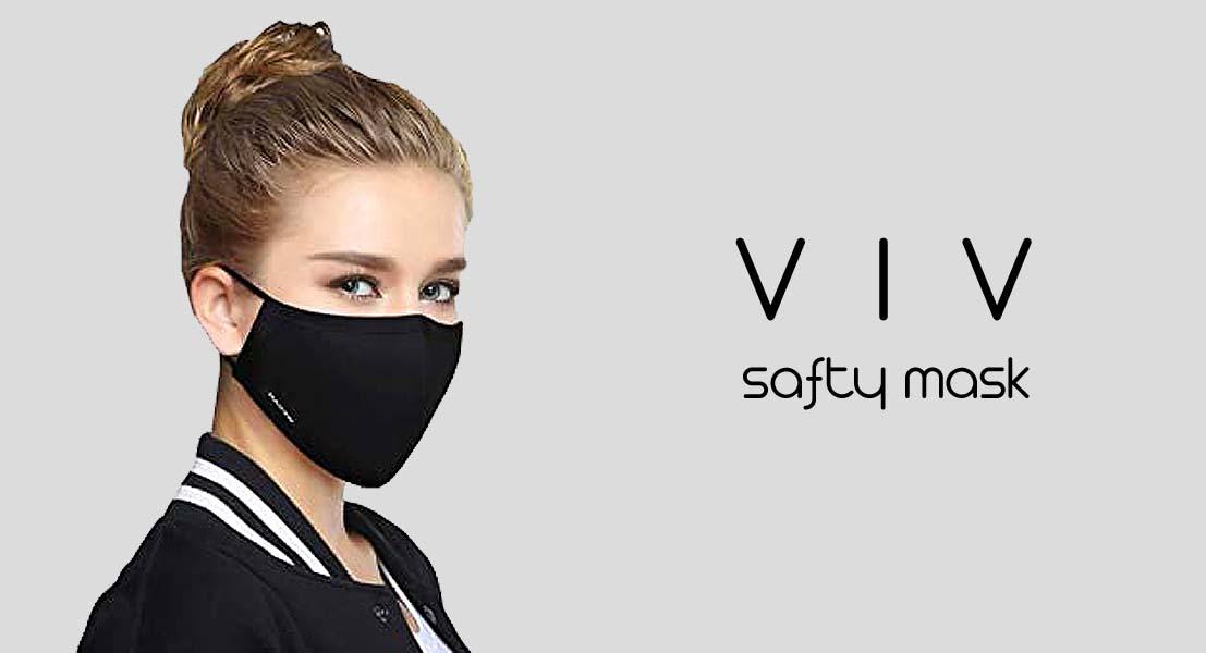 با ماسک تنفسی VIV مدل ۳D ware در امان باشید