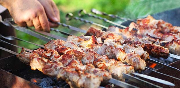 ژل آتش زنه برای درست کردن کباب