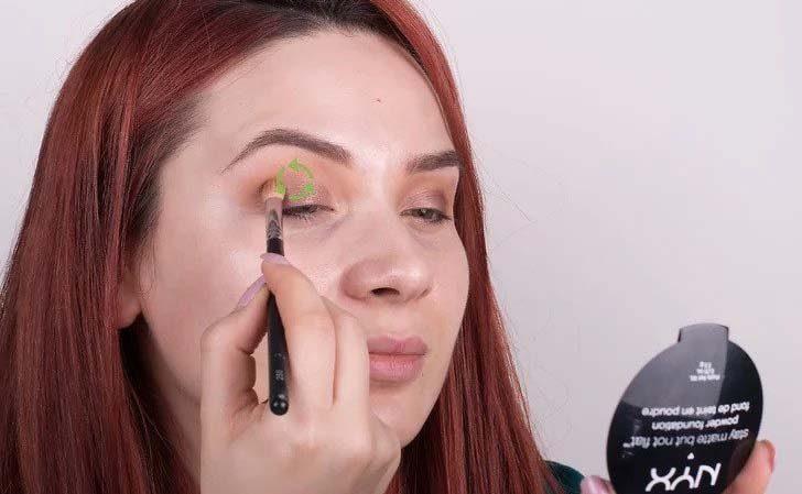 ترکیب رنگ سایه چشم