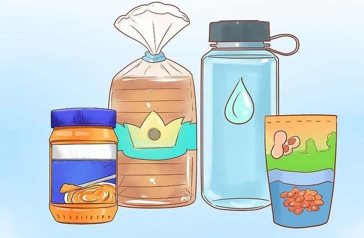 مواد غذایی کمپ
