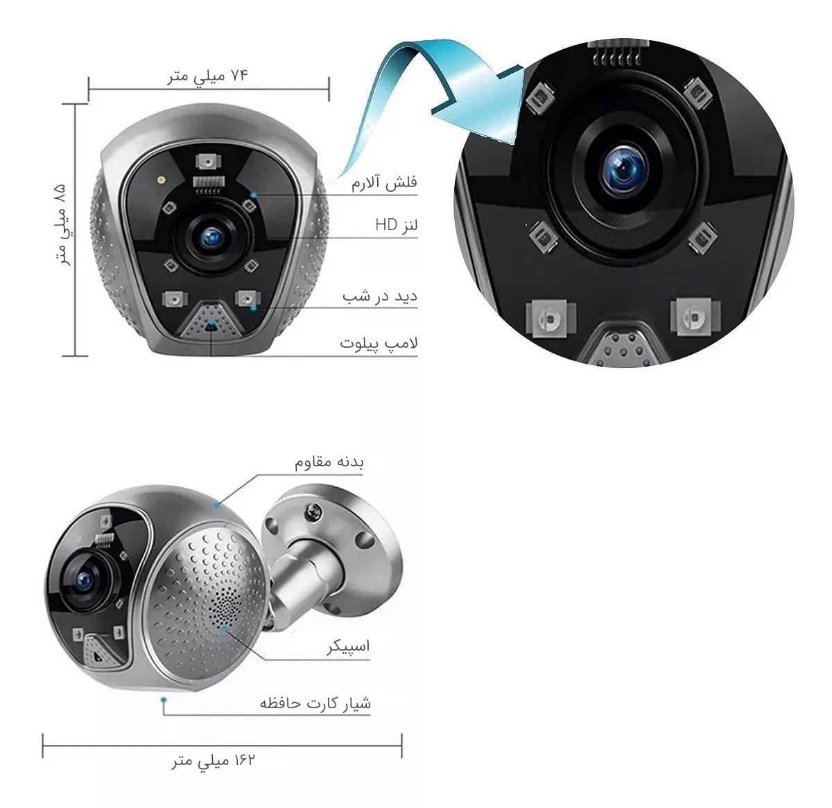 دوربین مداربسته Q19