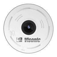 دوربین بی سیم تحت شبکه Visonic مدل سقفی
