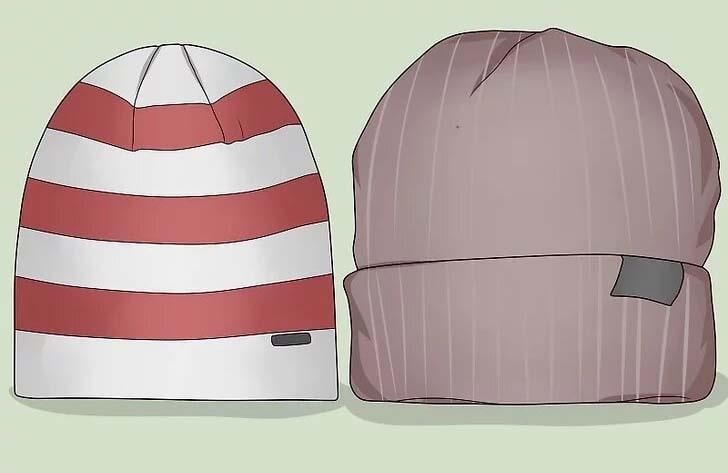 کلاه طبیعت گردی در زمستان