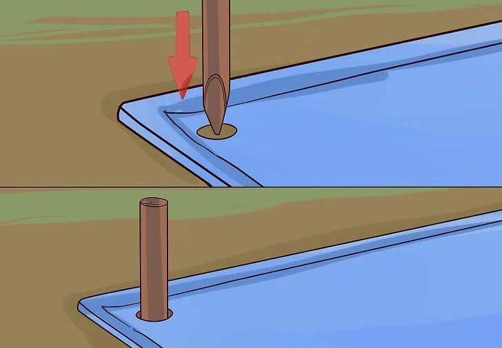 ساخت چادر اضطراری