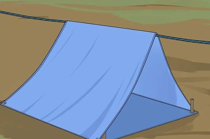 ساخت چادر کمپ