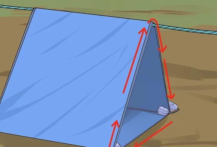 چادر نجات کمپ