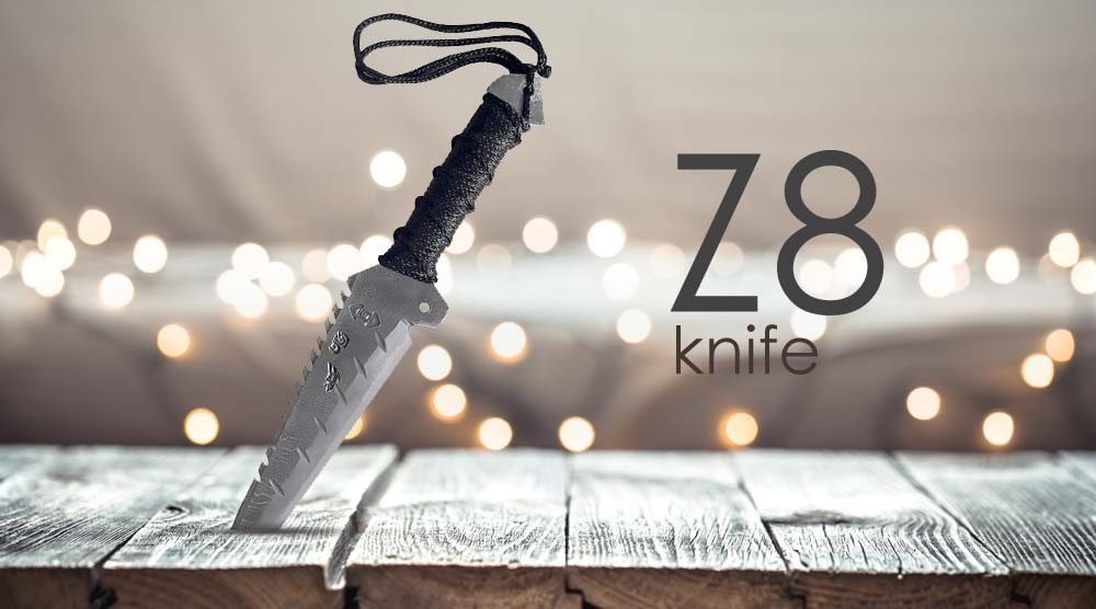 چاقو سفری سلطانی زنجان مدل Z8
