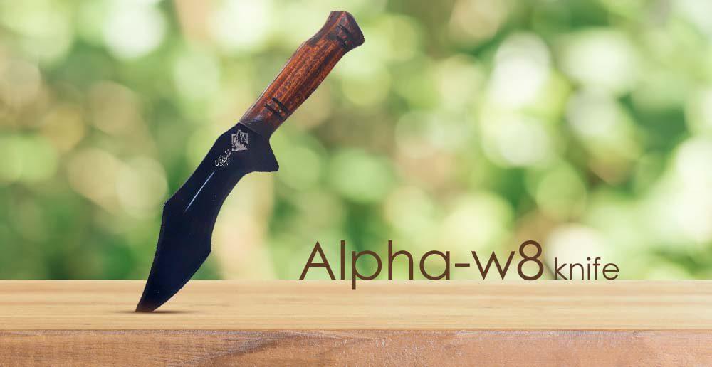 چاقوی سفری زنجان مدل Alpha-w8