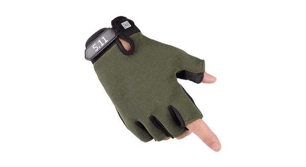 دستکش تاکتیکال نیم پنجه 5.11 مدل 3plus