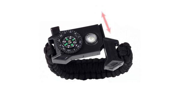 دستبند پاراکورد tactical مدل چراغ دار