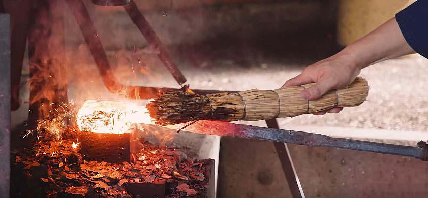 روش ساخت شمشیر سامورایی
