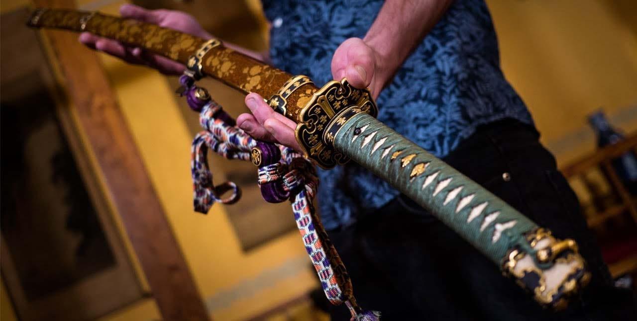 قدیمی ترین شمشیر سامورایی