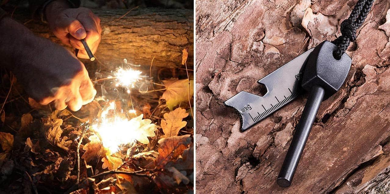 آتش زنه چخماقی Survive مدل Kit2