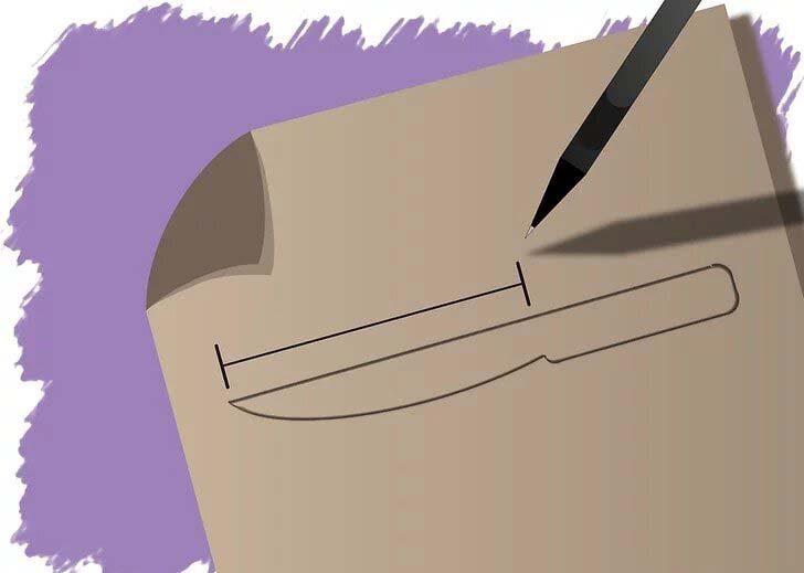 نحوه ساخت چاقو