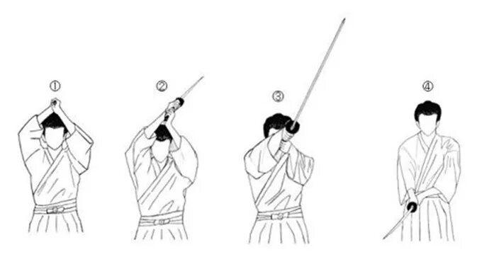 آموزش صحیح کار با شمشیر سامورایی