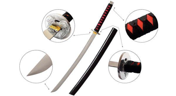 شمشیر سامورایی واکیزاشی مدل Naga2