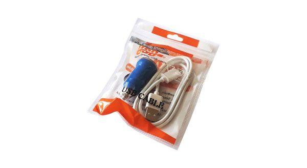 شارژر فندکی مدل Intelligent همراه با کابل microUSB
